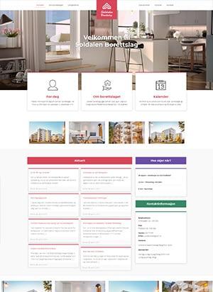 Hjemmeside alternativ 1