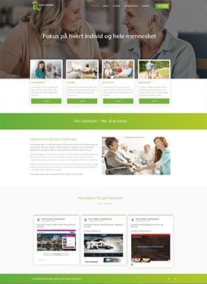 Hjemmeside alternativ 3