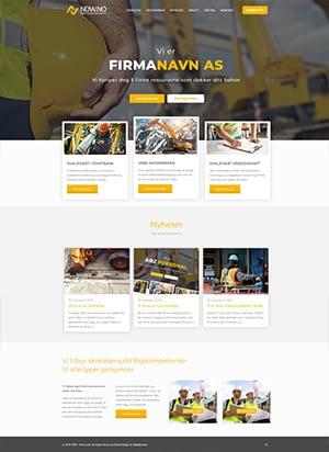Hjemmeside alternativ 5