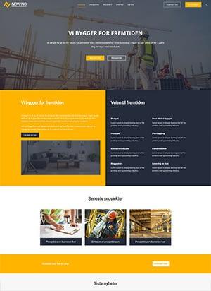 Hjemmeside alternativ 8